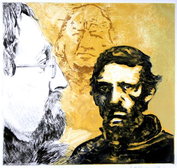 Self Portrait with Ancestors #2